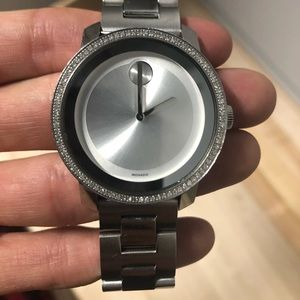 Movado Women's Swiss BOLD Diamond Watch